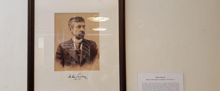 Mika Sándor portréjának fölavatása – galéria